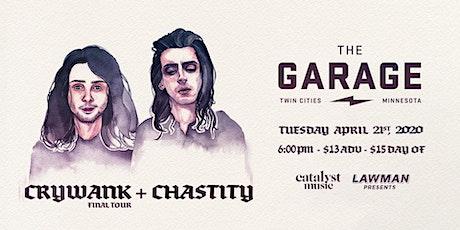 Crywank & Chastity tickets