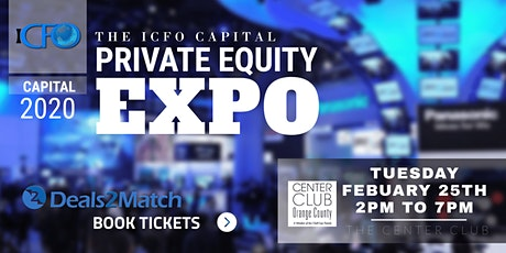 The iCFO Private Equity Expo - Feb 25th, Costa Mesa, CA tickets