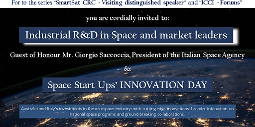 Industrial R&D in Space and Market Leaders forum