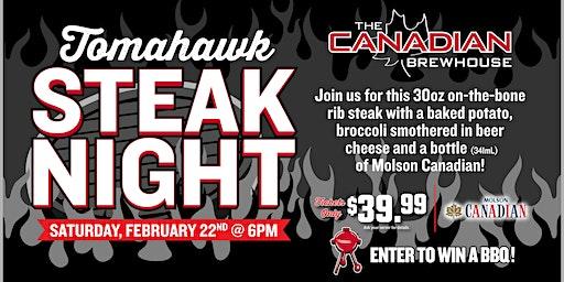 Tomahawk Steak Night (Edmonton Ellerslie)