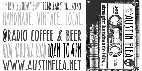 Austin Flea at Radio Coffee - in February tickets