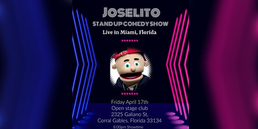 Have-Nots Comedy Presents Joselito Dapuppet (Special Event)