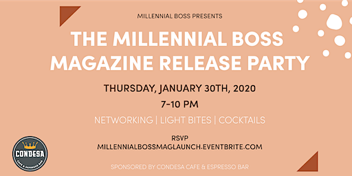 The Millennial Boss Magazine Release Party