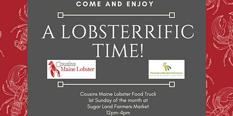 Cousins Maine Lobster Food Truck @ Pearland Farmers Market tickets