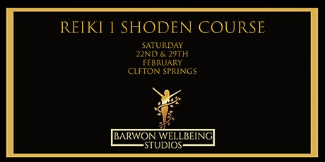 Reiki 1 (Shoden) Course 2 day course tickets