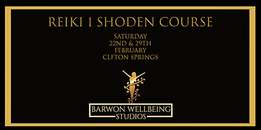 Reiki 1 (Shoden) Course 2 day course