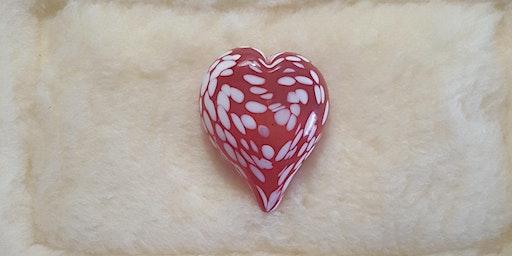 Valentine's Day Hot Glass Heart Sampler $50