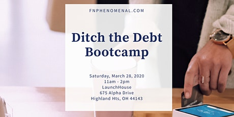 Ditch The Debt Bootcamp tickets