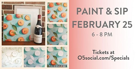 Ocean5 Paint and Sip Night - February tickets