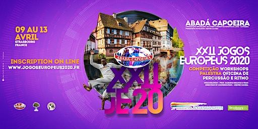 XXII  Jogos Europeus 2020 – Strasbourg / França