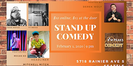 Stand Up Comedy Show: February 1st tickets