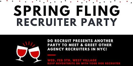 DG Recruit Spring Fling Recruiter Party tickets