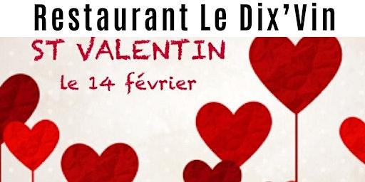 Saint Valentin Le DixVin Cadenet Luberon menu Roméo&Juliette