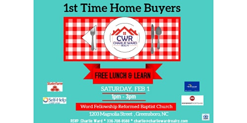 First Time Home Buyer Lunch & Learn