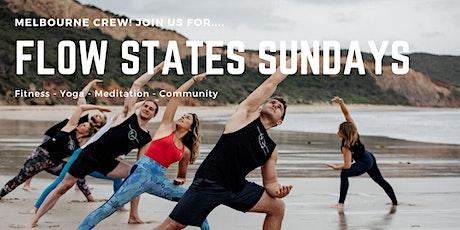 Flow States Sundays - Fitness, Yoga and Meditation on Elwood Beach tickets