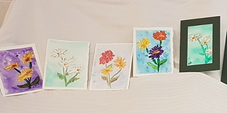 Guided Watercolour Class tickets