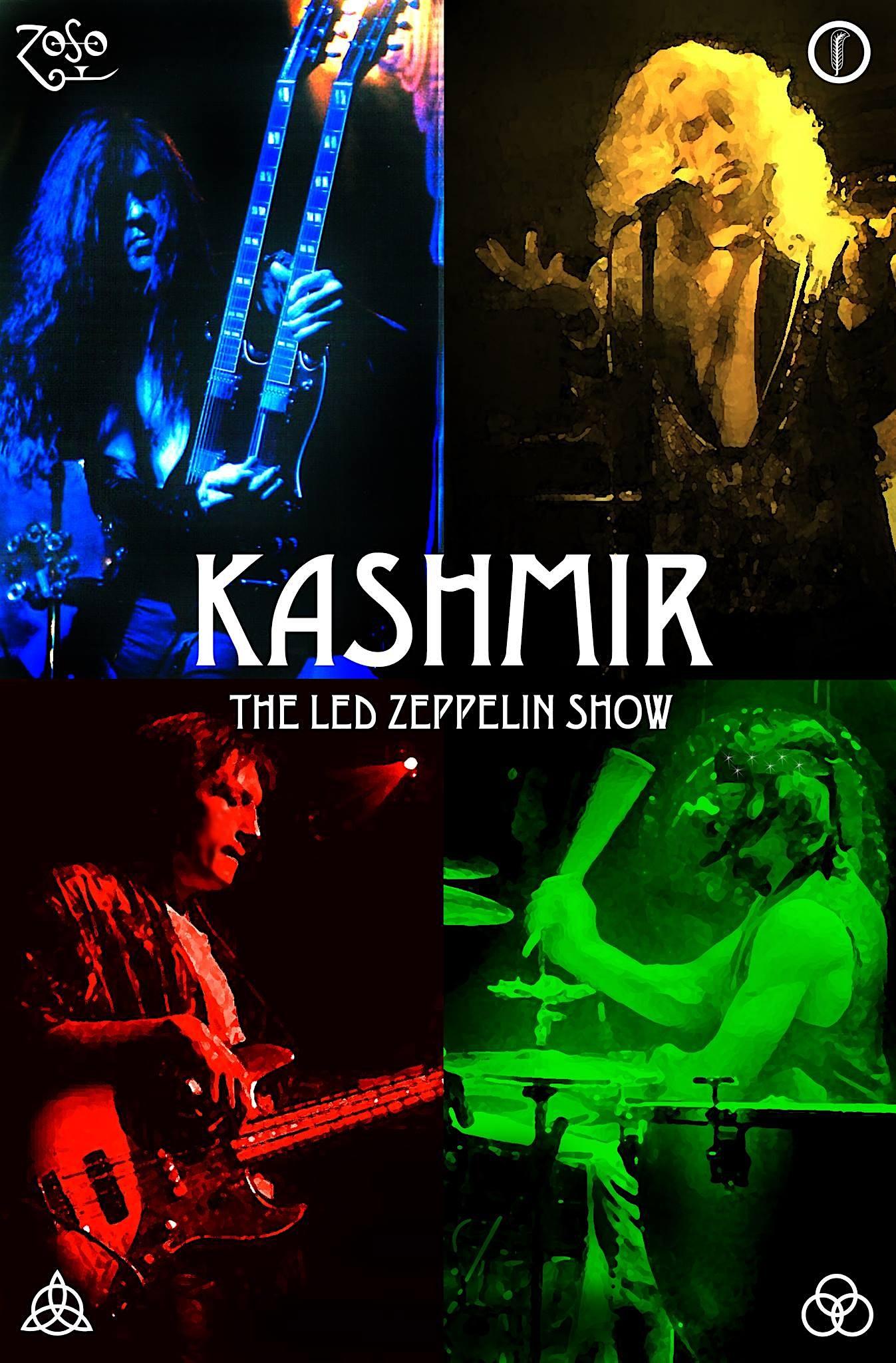 Kashmir a Led Zeppelin Show at the Park Theatre