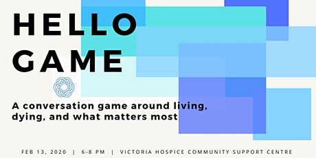 Hello Game - Conversations on Living, Dying and What Matters tickets