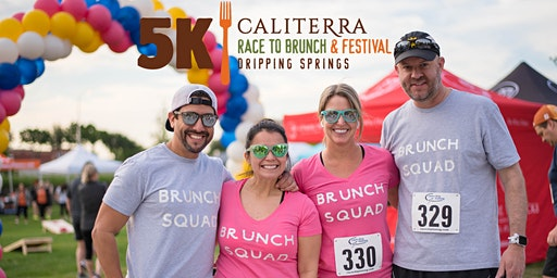 Dripping Springs Race to Brunch 5k & Festival at Caliterra