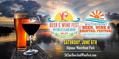 St. Clair Waterfront Beer, Wine, Cocktail & Seltzers Festival 2020 tickets