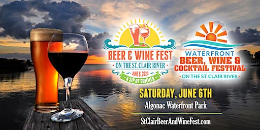 St. Clair Waterfront Beer, Wine, Cocktail & Seltzers Festival 2020