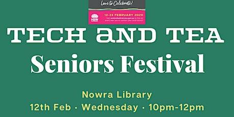 Seniors Week - Tech and Tea tickets