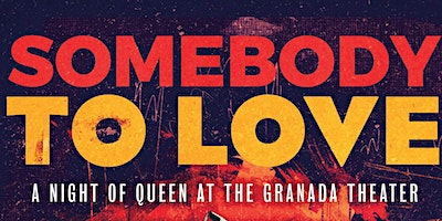 Somebody To Love a Queen Tribute