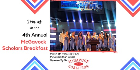 POSTPONED 4th Annual McGavock Scholars Breakfast tickets