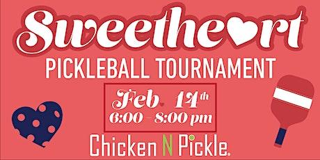 Sweetheart Pickleball Tournament tickets