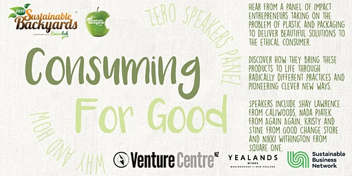 Consuming for Good- Why & How