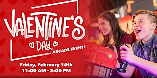 Valentine's Day Arcade Event