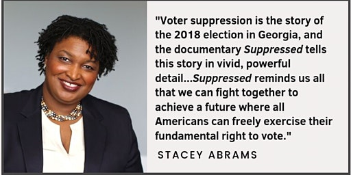 "Movie Screening: ""Suppressed: The Fight To Vote"""