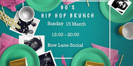 90s HipHop Brunch / Bow Lane Social tickets