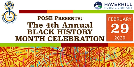 4th Annual Black History Month Celebration tickets