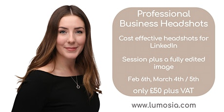 Affordable Business Headshots in Chiswick - Perfect for LinkedIn tickets