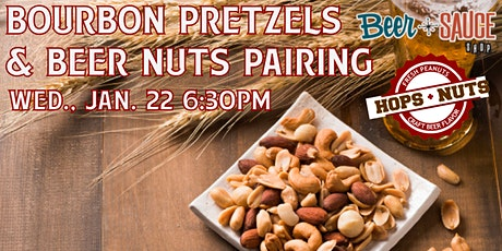 Bourbon Pretzels & Beer Nuts Pairing tickets