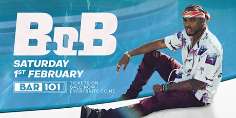 B.o.B at Bar 101 Auckland  tickets