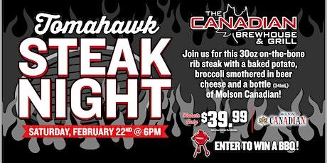 Tomahawk Steak Night (Richmond) tickets