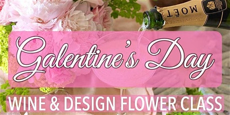 GALENTINE'S DAY Rose's and Champagne DIY Class tickets