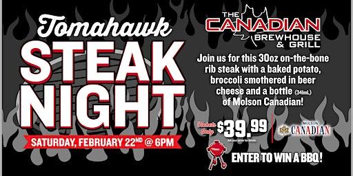 Tomahawk Steak Night (Kelowna)