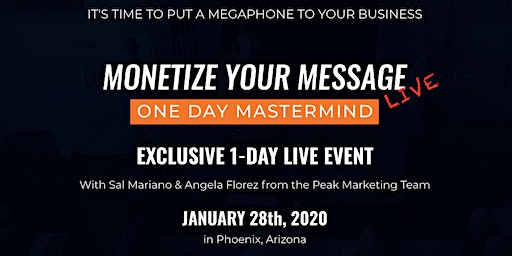 Monetize Your Message