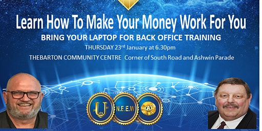 Learn How To Make Your Money Work For You ADELAIDE