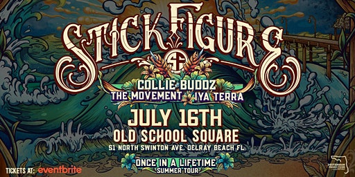 STICK FIGURE - Once in a Lifetime Tour - Delray Beach