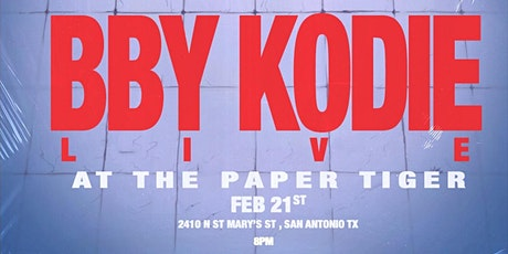 BBY KODIE tickets