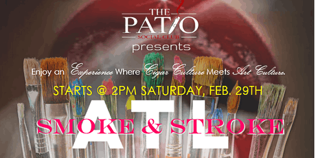 ATL Smoke & Stroke @ The Patio Social Club tickets