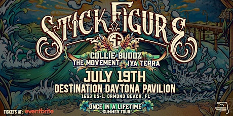 STICK FIGURE - Once in a Lifetime Tour - Ormond Beach