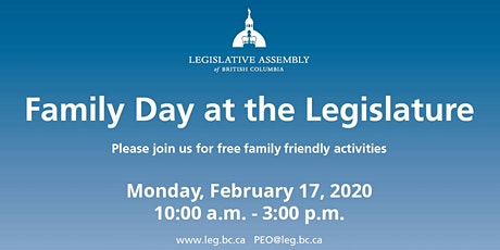 Family Day at the Legislature tickets