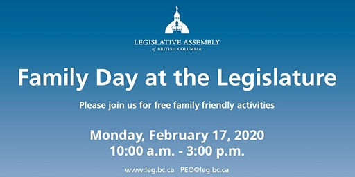 Family Day at the Legislature