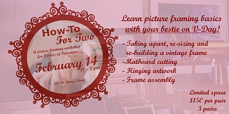 How-To For Two: Picture Framing Workshop tickets