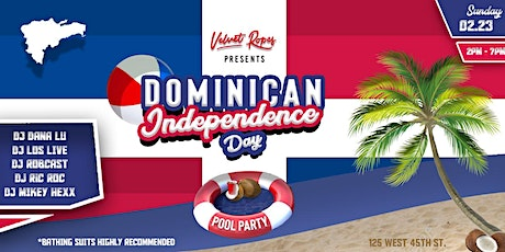 Dominican Independence Day Pool Party tickets